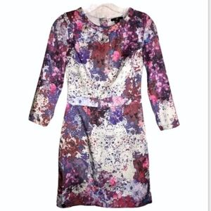 NWOT! H&M Floral Splatter Print DRESS Mini